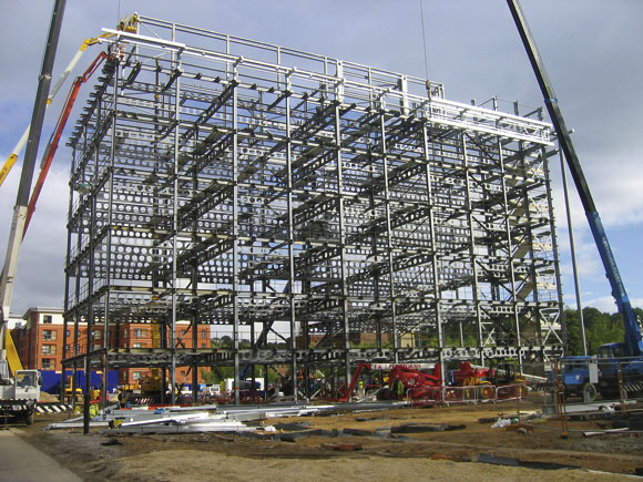 Steel Frame Buildings : Super green building newsteelconstruction