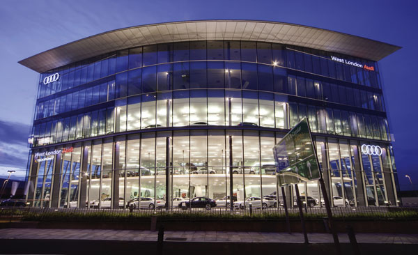 SSDA 2010 – Audi, West London | newsteelconstruction.com