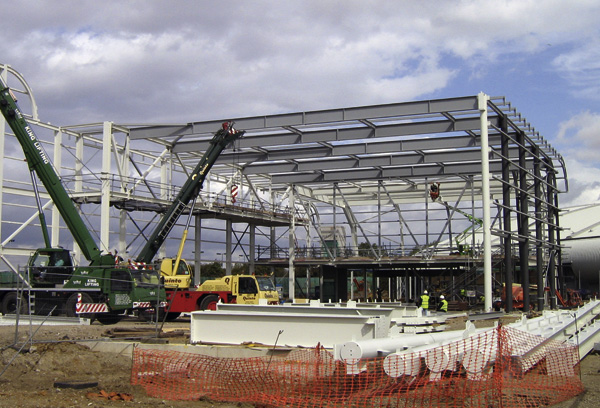 Steel Dives In For New Pool And Diving Facility