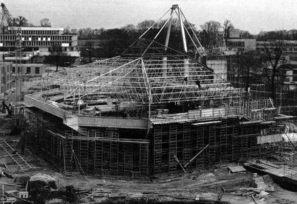 40 Years Ago University Of York Unusual Roof Structure