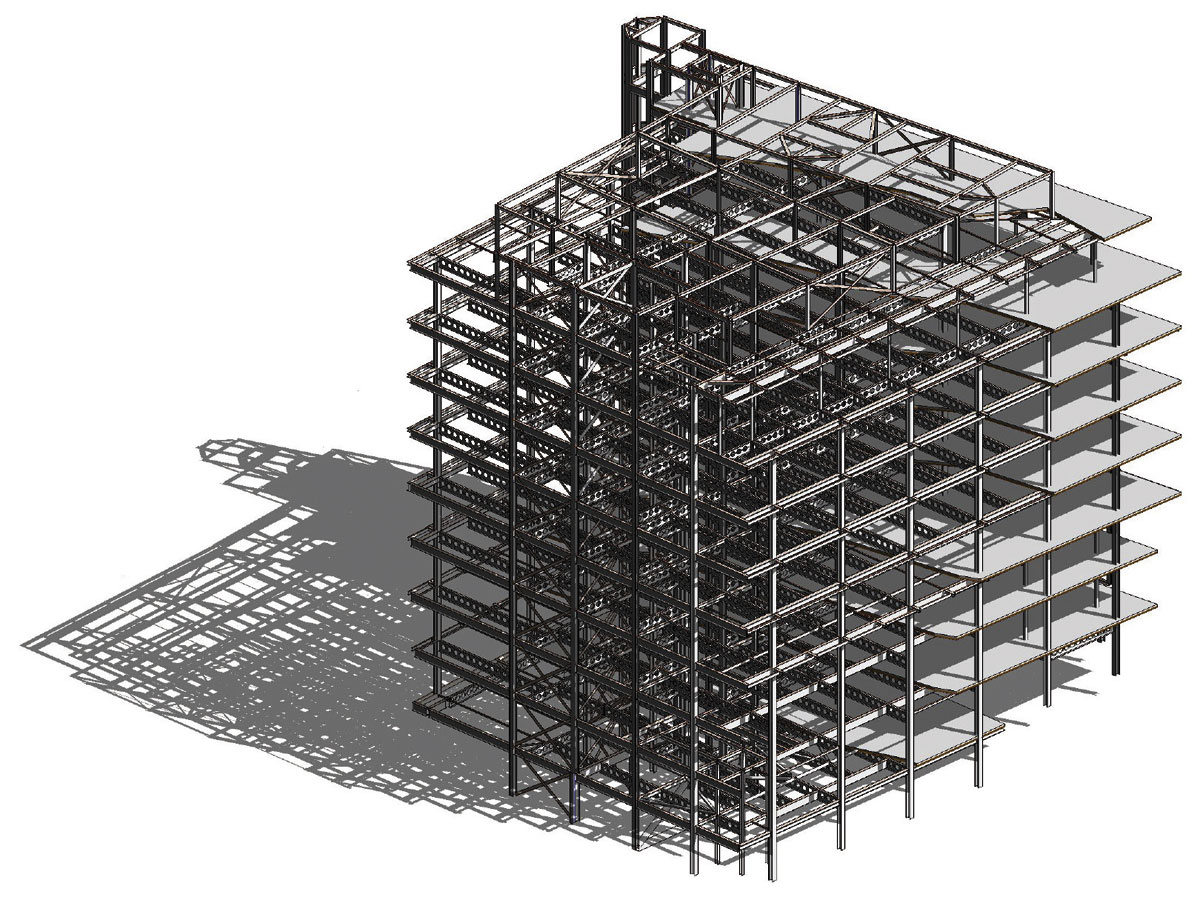 Steel Frame Construction : Steel provides architect s vision newsteelconstruction