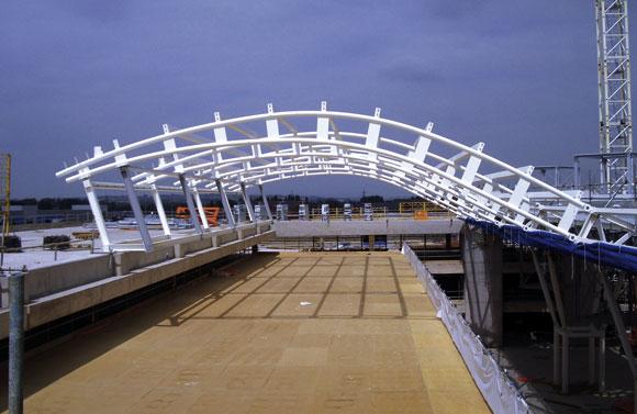 Feature Steel Roof Tops Regeneration Project