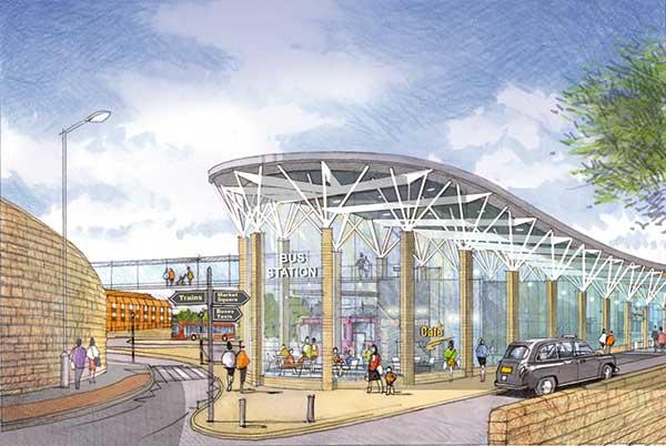 Bus Station Creates Transport Hub Newsteelconstruction Com