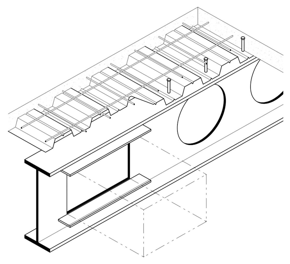 web openings in steel beams