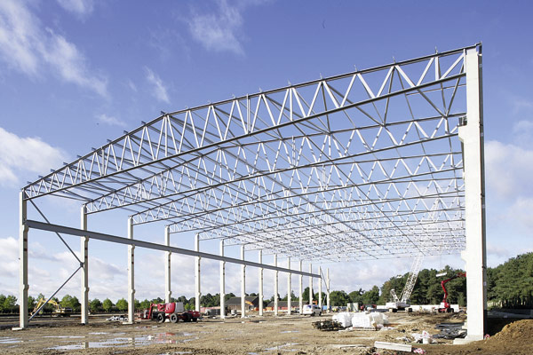 Metsec Makes Light Work Of Long Trusses