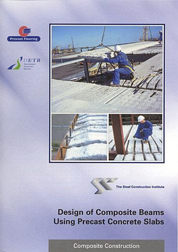 Design of composite beams using precast concrete slabs