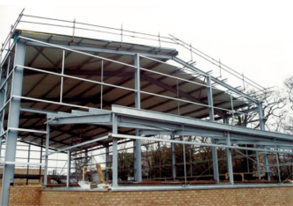 Single-storey Steel Framed Buildings in Fire Boundary Conditions ...