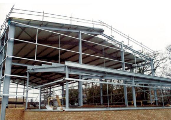 Examples Of Steel Frame Buildings : Single storey steel framed buildings in fire boundary