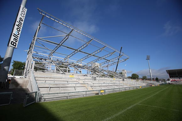 The final phase of the project was the construction of the Main Stand