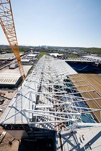 The new upper tier takes shape