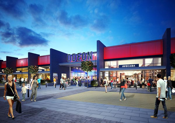 The complex will help the leisure park become a focal point in Milton Keynes