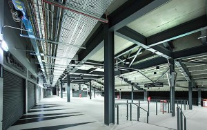 Plenty of space has been provided for retail and food and beverage outlets