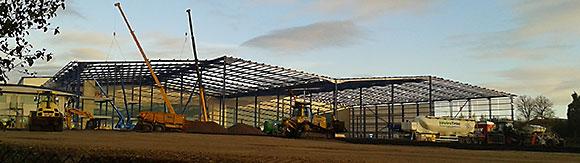 Screwfix is enlarging its current distribution centre