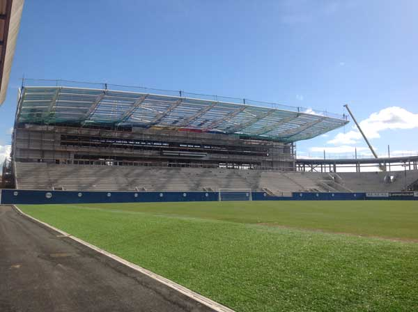 Windsor Park Redevelopment Continues Apace