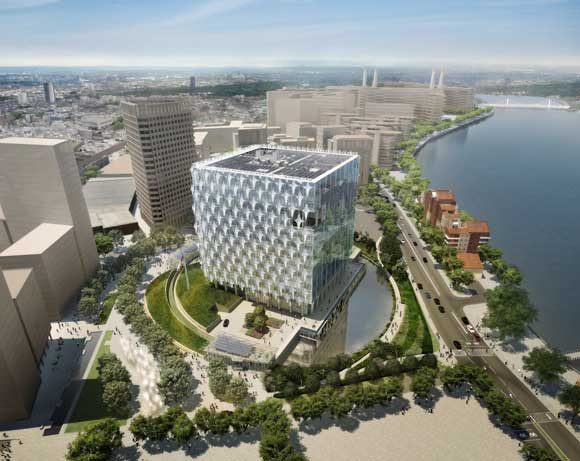 The new Embassy is set in its own park