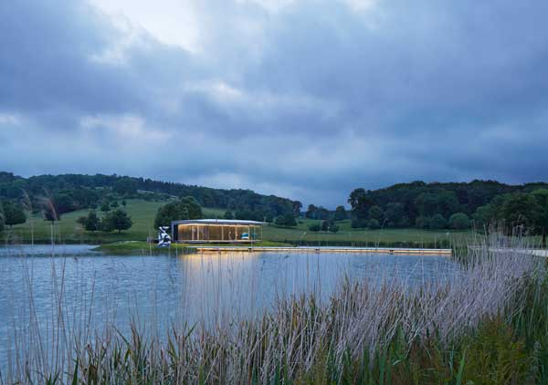 Award – Island Pavilion and Footbridge, Wormsley