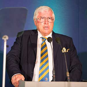 Chairman of the Judges, David Lazenby
