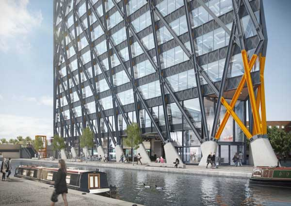 Contract signed for steel diagrid structure in paddington for Fixed price house build