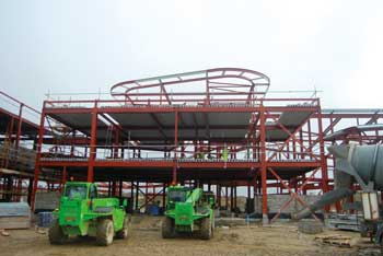 Roof pods are said to add volume to the structure