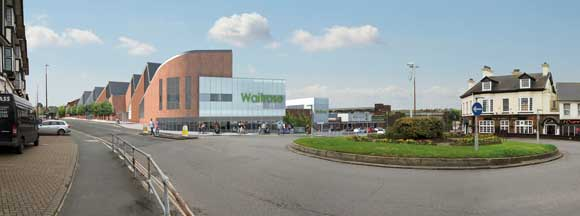 The Waitrose store is the largest part of the station upgrade scheme
