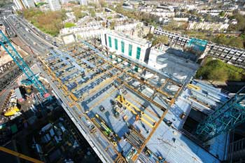 The project benefits from Paddington's extensive transport network