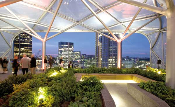 Commendation: 6 Bevis Marks Roof Garden, London