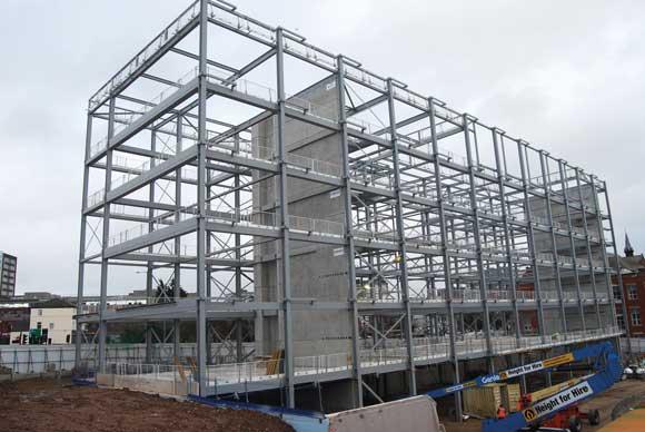 Steel frame accommodates innovation | newsteelconstruction.com