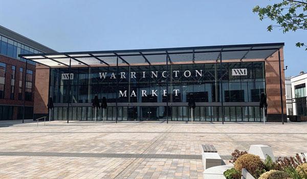 Warrington indoor market officially opens
