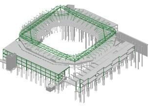 Modelling Wimbledon Centre Court