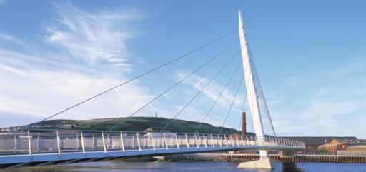 The Swansea Sail Bridge