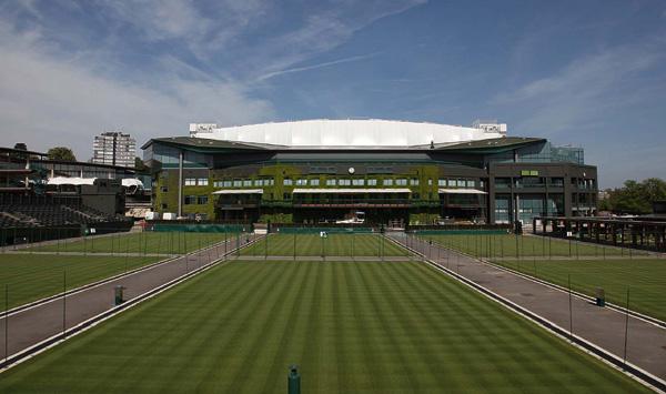 Wimbledon's retractable roof scoops European design accolade
