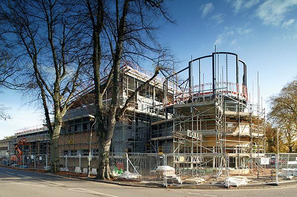 Cheltenham East Fire Station under construction
