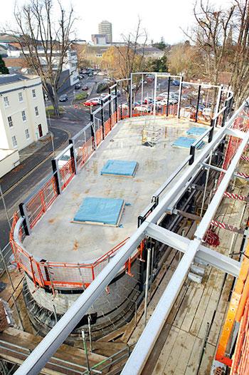 Cheltenham East fire station's architecturally designed community area