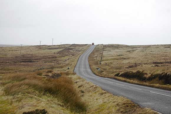 The road from Stornaway