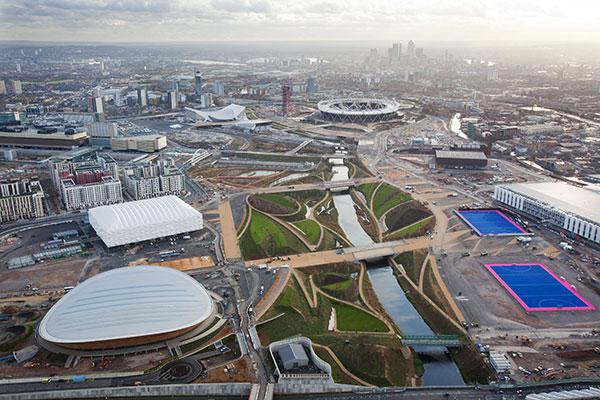 The London 2012 Olympic Park