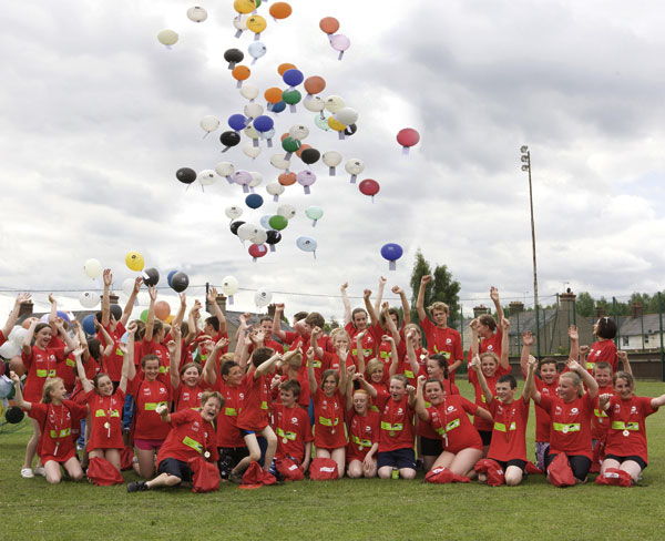 Balloon release celebrates Colorcoat relaunch