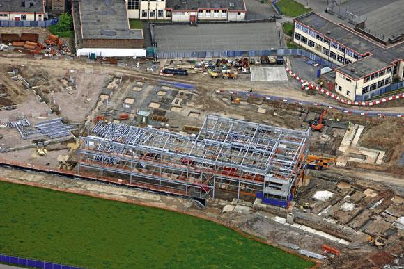 Building schools with steel