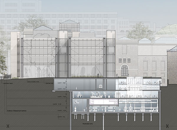 British Museum expands with steel