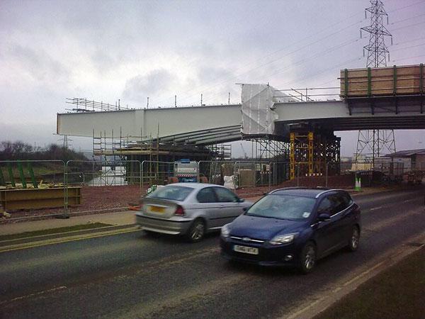 Cumbrian bridge replacement gets underway