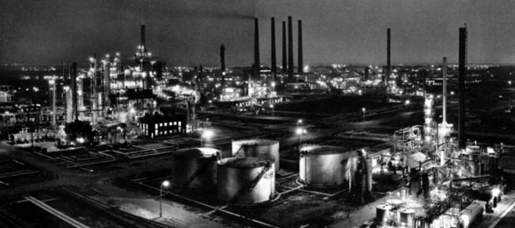 50 Years Ago: Steel's contribution to the Oil and Petro-Chemical Industries