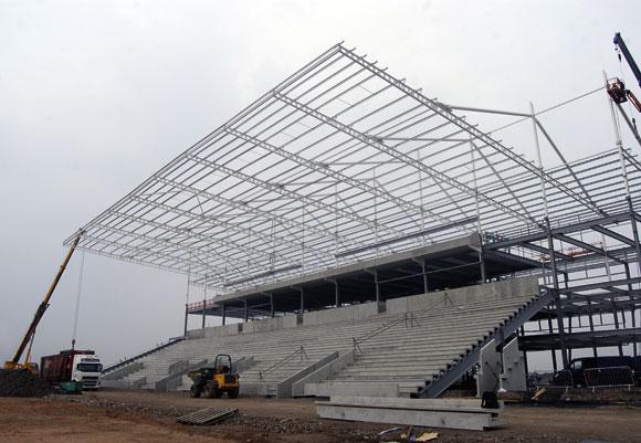 Flexible stadium provides community boost