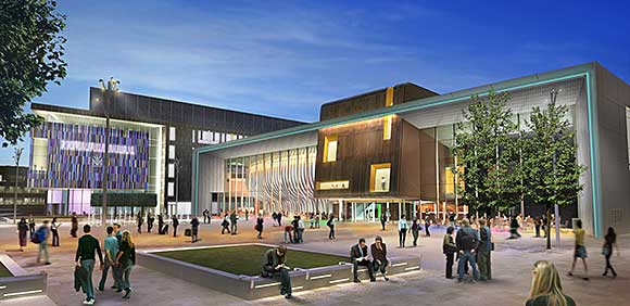 Venue kickstarts town centre development