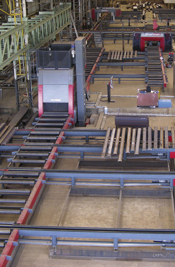 Steelwork contractor updates production facility
