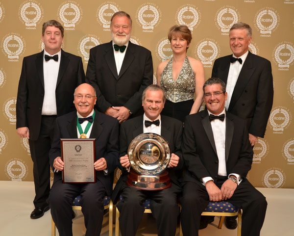 Health and safety award for the BCSA