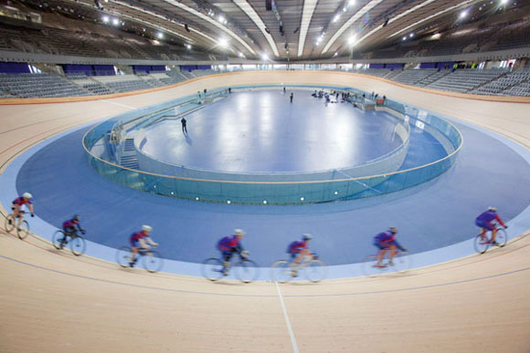 Cycling venue on track