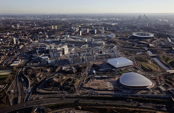 Olympic Park transformation gathers pace