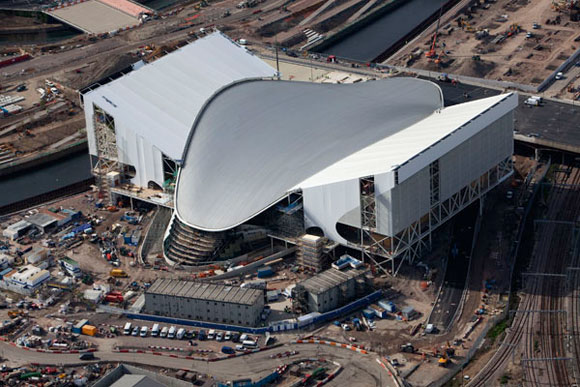 Iconic roof dives into action