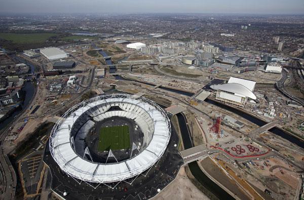 Landmark Olympic  Stadium completed on time