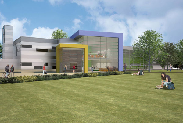 Fast track college revamp relies on steel