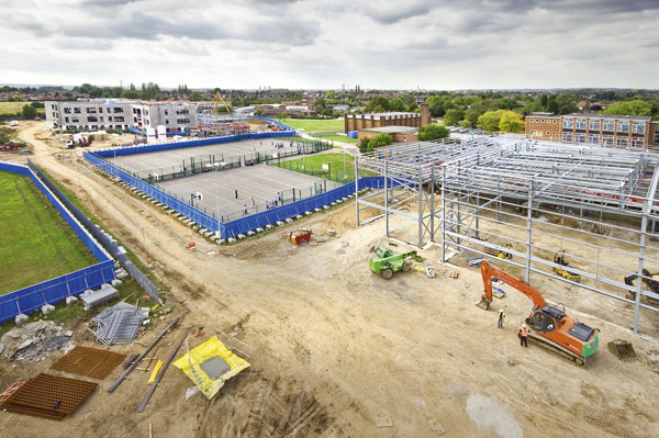 Framework takes shape quietly for Derby school